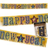 Happy New Year Fringe Banner