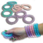 Coil Bracelets - 12 Pack