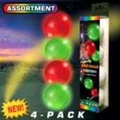 LED Novelty Golf Balls-4 Pack