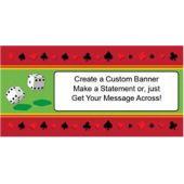 Casino Dice Custom Banner