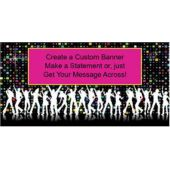 Dance Party Custom Banner