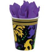 Mardi Gras Magic 9 Oz. Cups