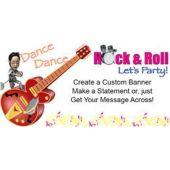 Rock'N'Roll Custom Banner