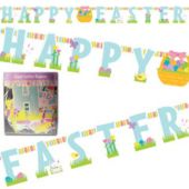 Happy Easter Letter Banner
