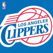 Los Angeles Clippers Lunch Napkins - 16 Pack