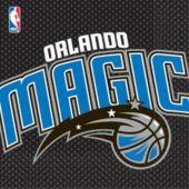 Orlando Magic Lunch Napkins - 16 Pack