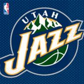 Utah Jazz Lunch Napkins - 16 Pack