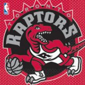 Toronto Raptors Lunch Napkins - 16 Pack
