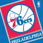 Philadelphia 76Ers Lunch Napkins - 16 Pack