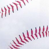 Baseball Fan Lunch Napkins - 16 Pack