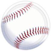 "Baseball Fan 7"" Plates - 8 Pack"