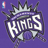Sacramento Kings Lunch Napkins - 16 Pack