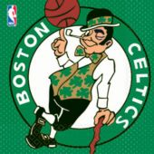 Boston Celtics Lunch Napkins - 16 Pack