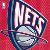 New Jersey Nets Lunch Napkins - 16 Pack