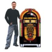 Jukebox Cardboard Stand Up