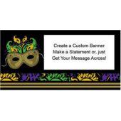 Mardi Gras Magic Custom Banner