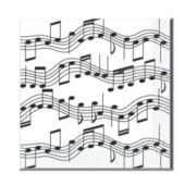 Musical Notes Lunch Napkins - 16 Pack