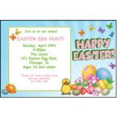 Easter Egg Hunt Personalized Invitations