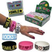 Message Bracelets-24 Pack