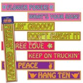 60's Street Signs-4 Pack