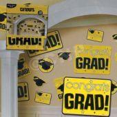 Yellow Graduation Cutouts-30 Pack
