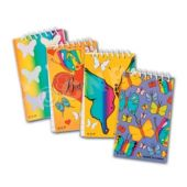 "Butterfly 3 7/8"" Notebooks - 12 Pack"
