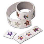 """Star Paper 1 1/2"""" Stickers - 100 Pack"""