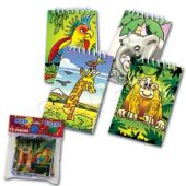 "Jungle 4"" Note Pads - 12 Pack"