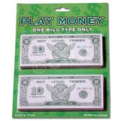 Play Money-$10- 250 Pack