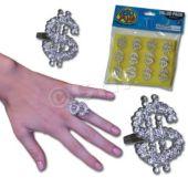 Bling Rings  - 12 Pack