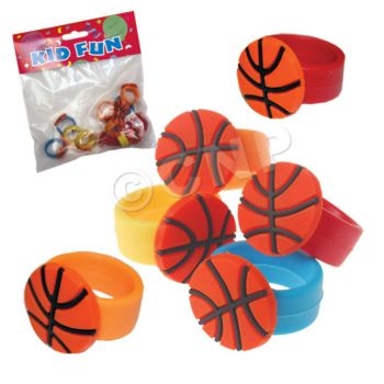 BASKETBALL RUBBER RINGS