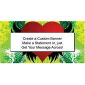 Grunge Heart-Custom Banner