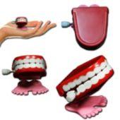 Wind Up Chattter Teeth - 12 Pack