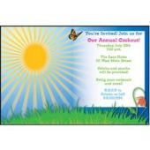 Sunny Summer Days Personalized Invitations