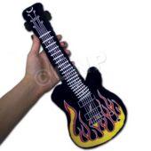 "Flame Plush Guitars-15""-12 Pack"