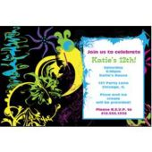 Abstract Graphic  Personalized Invitations