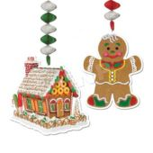 Gingerbread Danglers-2 Pack