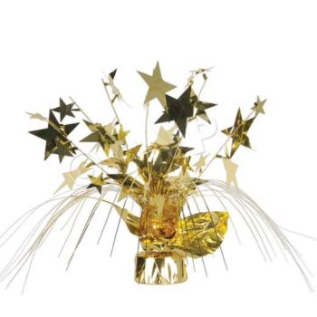 Gold Star Centerpiece