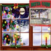 Snowy Christmas View Decoration