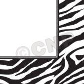 Zebra Print Lunch Napkins  - 16 Pack