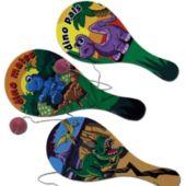 Dinosaur Paddle Balls