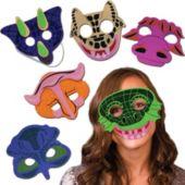 Dinosaur Masks - 12 Pack
