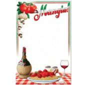 Italian Menu Board Cutout