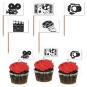 Movie Set Garnish Picks-50 Per Unit