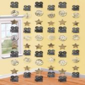Hollywood String Decorations-6 Pack