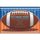 Super Football Game Xlvi Personalized Invitations