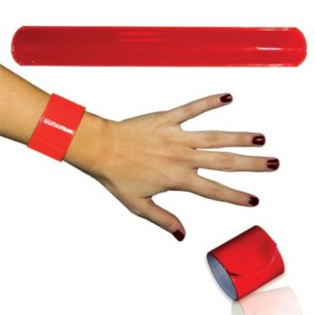 Red Slap Bracelets