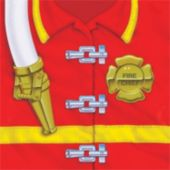 Firefighter Lunch Napkins - 16 Pack