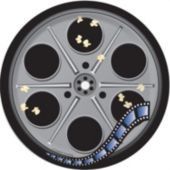 """Hollywood Night 7"""" Plates - 8 Pack"""