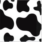 Cow Print Beverage Napkins - 16 Pack